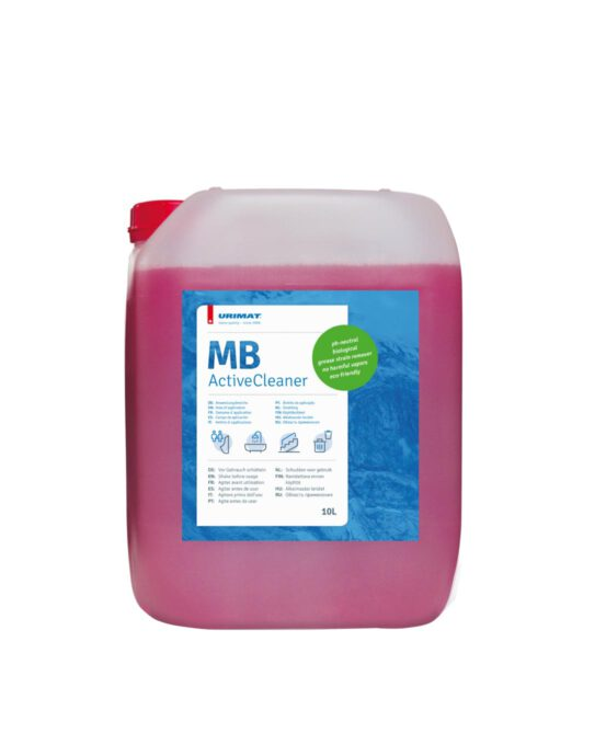 Mikrobiologinen ActiveCleaner -puhdistusainekanisteri 10 litraa.