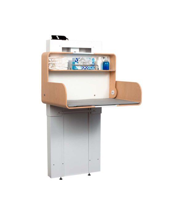 Hiiwi-hissinostin lastenhoitopöytään. Väri: valkoinen. Tuotenumero: Hiiwi