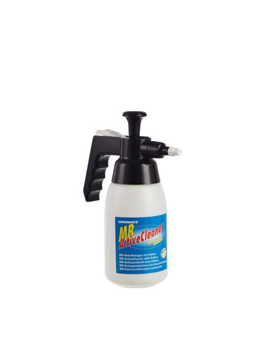 Spray-pumppupullo Urimat MB ActiveCleaner. Väri: valkoinen. Tuotenumero: 80018.