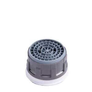 Neoperl cascade -silikonisuutin. Väri:harmaa. Tuotenumero: VED02744194M24.