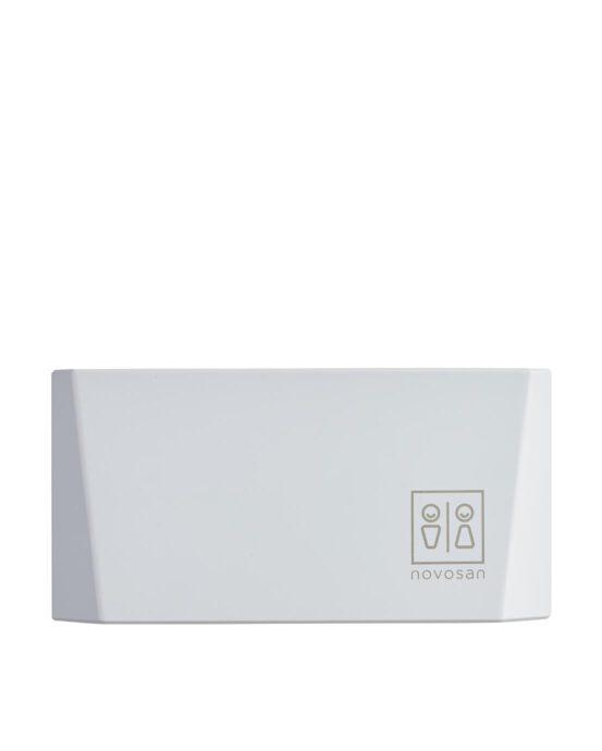 Novosan kuutio-käsienkuivaaja. Väri ja tuotenumero: valkoinen, NDR4-W.