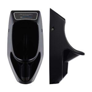 Novosan vedetön Urimat-pisuaari. Malli: Compactplus Black / musta