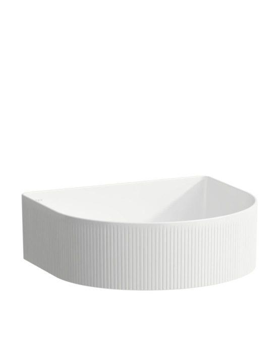 Laufen Sonar -malja-allas. Pesualtaan väri: valkoinen. Tuotenumero: H8123434001121. Tilausnumero: 812343.