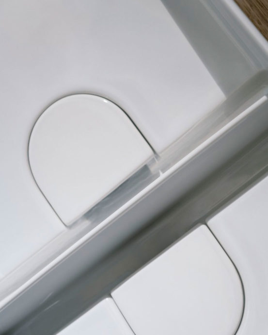Laufen Sonar -malja-tupla-allas. Pesualtaan väri: valkoinen. Tuotenumero: H8123494001121.Tilausnumero: 812349.